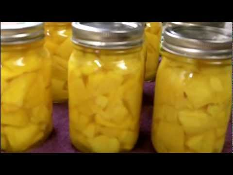 Canning Mangos In Light Syrup