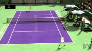 Top Spin 4 XBOX 360 vs. PS3 vs. Wii Graphics  Comparison Video 1080P FULL HD