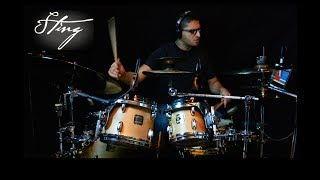 Sting - If I Ever Lose My Faith in You - Drum Cover by Leandro Caldeira