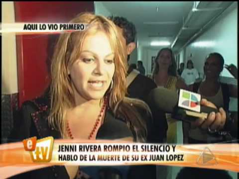 Jenni Rivera superó la muerte de su ex