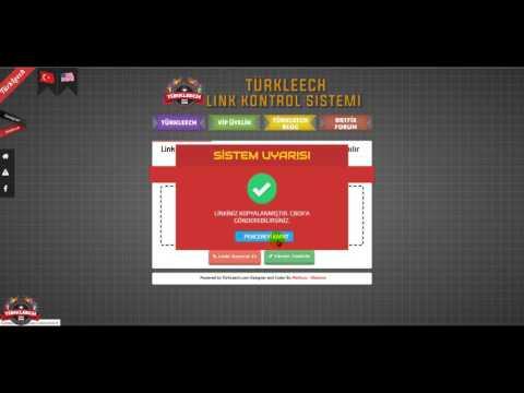 TürkLeech Link Kontrol
