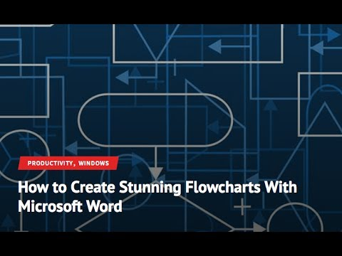 How To Create Stunning Flowcharts In Microsoft Word Youtube