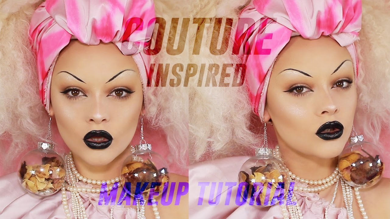 Couture inspired makeup tutorial youtube couture inspired makeup tutorial baditri Images