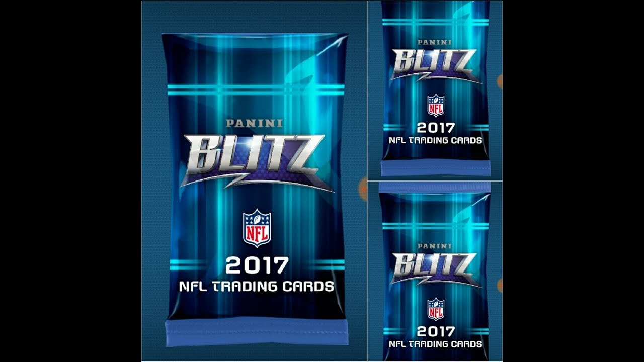 Ten Free Panini Blitz packs from 2017 Panini Absolute Promo opening  NFL  football trading cards