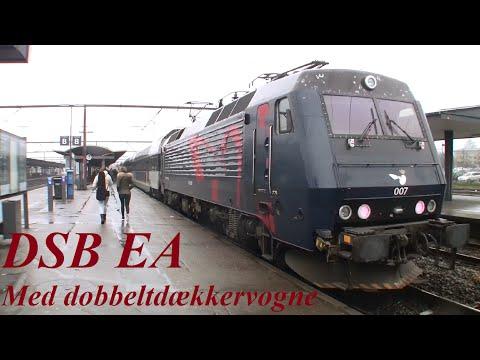 DSB EA 3007 - med DD-vogne