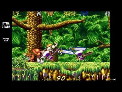 Dyna Gear / arcade attract mode / 1993