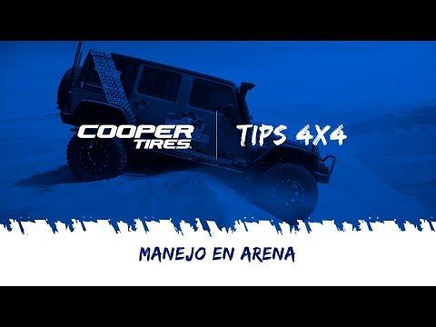 Manejo en arena / Cooper Tires
