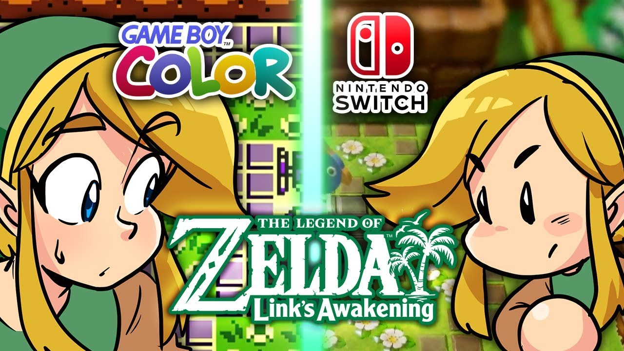 Zelda Links Awakening Nintendo Switch Vs Game Boy Discussion