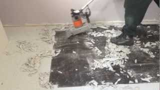Youtube - Vinyl Floor Removal