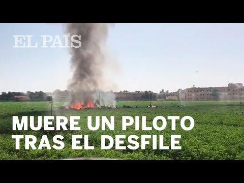 Muere un piloto tras el desfile del 12 de octubre   España