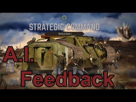 Strategic Command: World War I - AI Feedback |