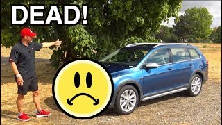 Dead: VW is Killing Off the Golf Sportwagen and Alltrack