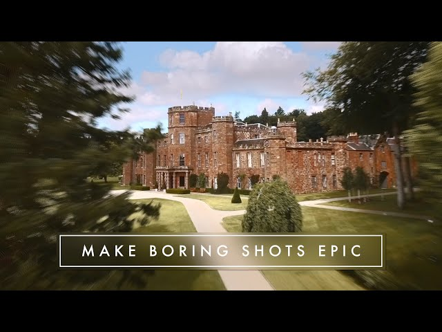 HOW TO MAKE BORING DRONE SHOTS LOOKE EPIC!!
