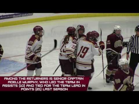 2016-17 Norwich University Women's Hockey Preview
