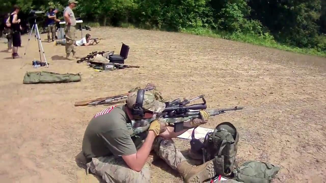 Shooting the M1A DMR