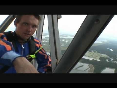 2000ft Antenna BASE jump (12 second free fall)