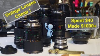 Vintage Lenses for Fun & Profit! Ukraine Edition