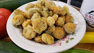 Fried Okra - Extra Crunchy - 100 Year Old Recipe - The Hillbilly Kitchen