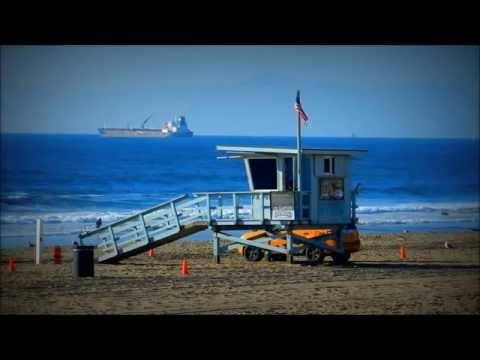 "Exploring the beauty of Manhattan Beach, California with ""Relaxation Meditation"" Music in full HD"