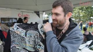 Machine Knitting a Cosby Sweater
