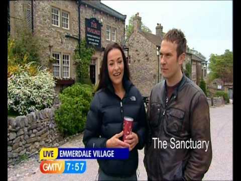 Amanda Donohoe and Jason Merrells on GMTV 29.04.10