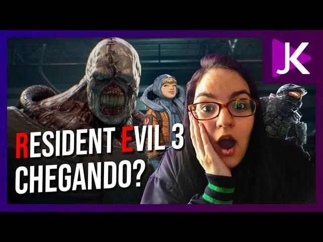 Halo Reach, Apex Legends e Resident Evil 3, será que dá pra dezembro ficar melhor?