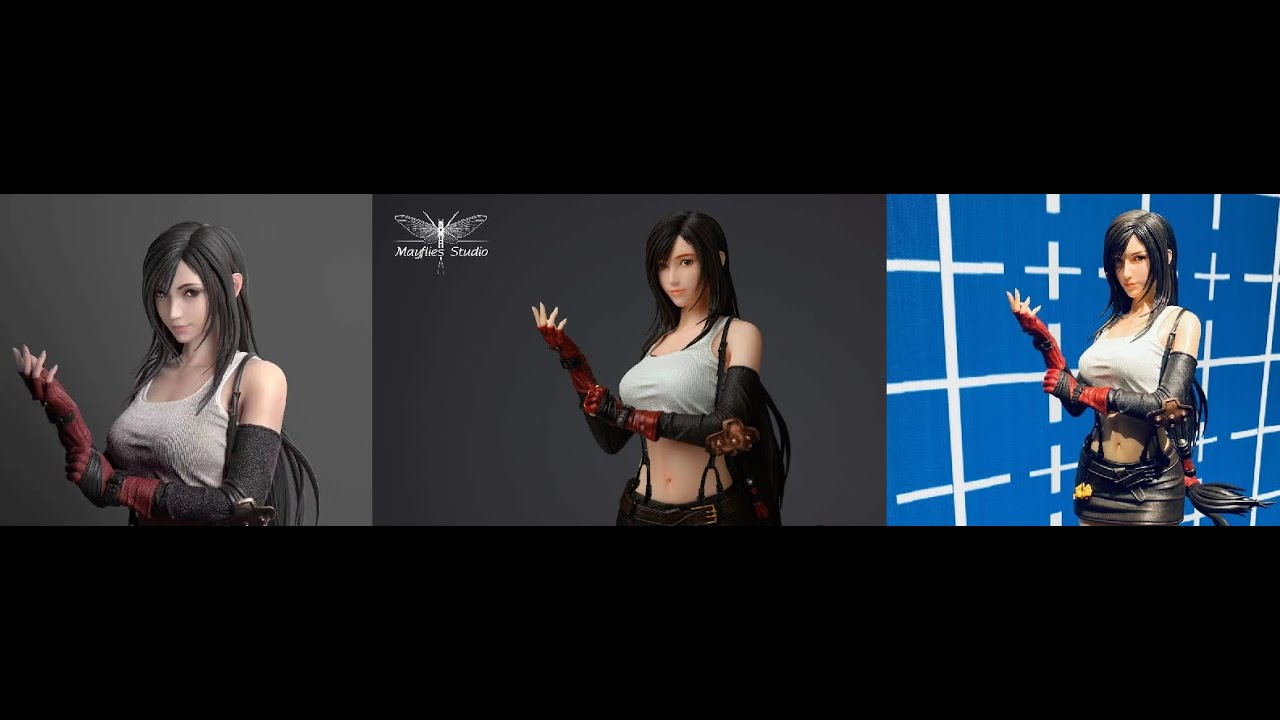 Tifa Mayflies Statue Update And Channel Introduction Youtube