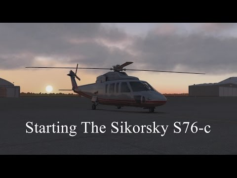 How To Start the Sikorsky S76-c  XPLANE 11