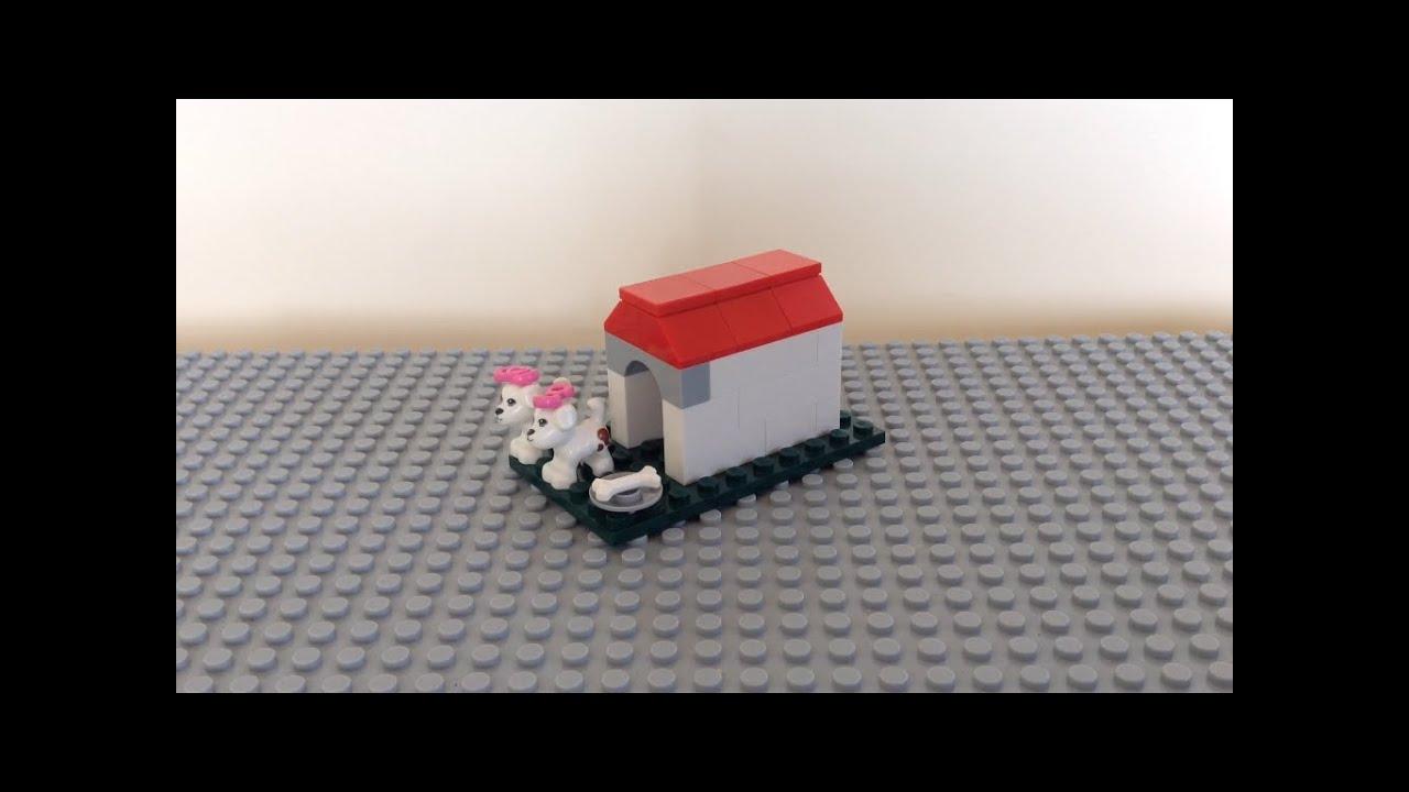 Como hacer una casa para perros de lego youtube for Casas para perros