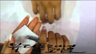신촌미용학원 네일아트국가자격증실기시험 네일케어 동영상