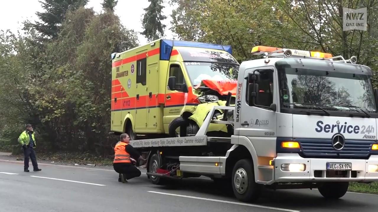 Rettungswagen Unfall