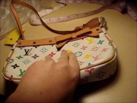 5174725ca227 Fake Louis Vuitton bag Review - YouTube