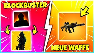 😱 ENDLICH BLOCKBUSTER SKIN IS HERE! 👑 IN 5 HOURS comes a NEW UPDATE! - Fortnite Battle Royale