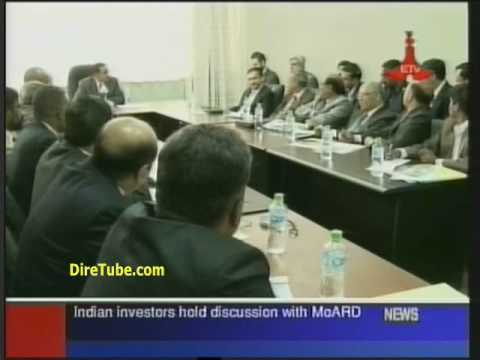 Indian investors hold discussion with MoARD