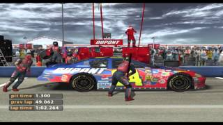 NASCAR 2005: Chase for the Cup - Jeff Gordon @ Talladega (720p 60fps)