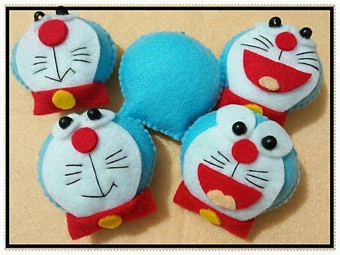 Tutorial Flanel Felt Cara Membuat Doraemon Ala Rangga Bastian