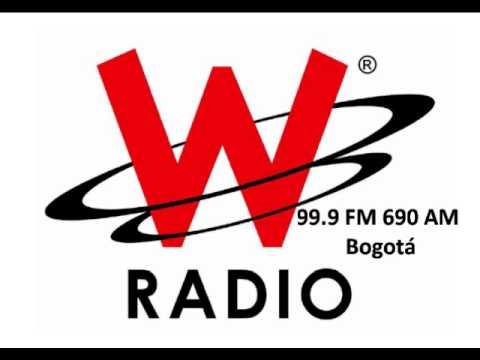 Identificación W Radio Caracol Radio 99.9 FM 690 AM Bogotá
