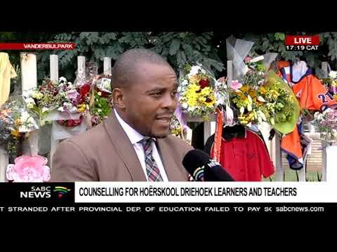 Meeting between Hoerskool Driehoek management and Education: Steve Mabona
