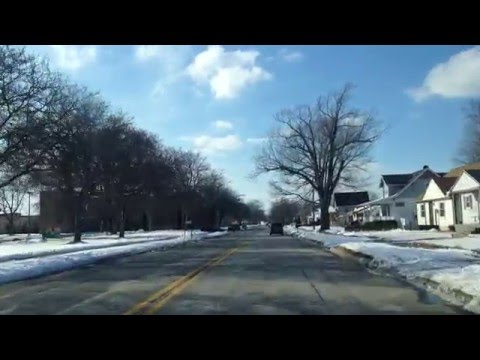 Driving from Saint Clair Shores to Beverly Hills, Michigan