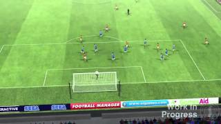 Football Manager 2013 - Match Day #2 Gameplay