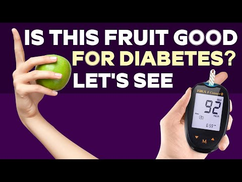 Is this fruit good for diabetes?