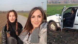 NEW VIDEO Muddy Vlog Stuck Starring Miss Amy & Miss Ninfa