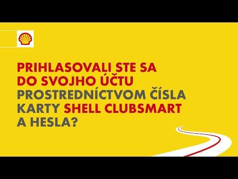 Ako si vytvoriť online účet k programu Shell ClubSmart