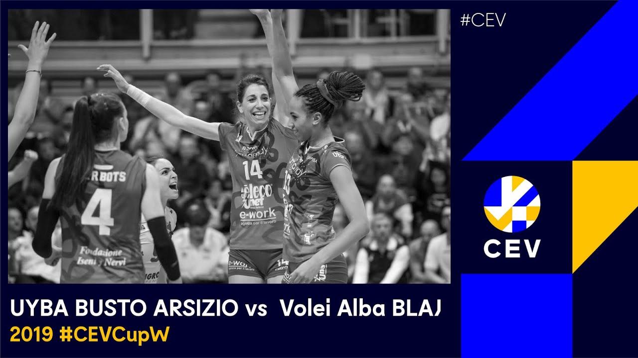 Yamamay e-work BUSTO ARSIZIO vs CSM Volei Alba BLAJ FULL MATCH - 2019 #CEVCup FInals