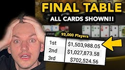 BIGGEST SUNDAY MILLION EVER - $1,500,000 FOR 1ST! POKERSTARS