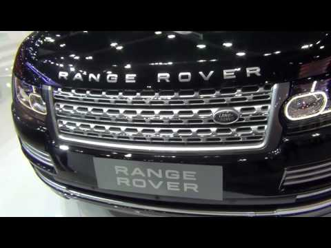 Land Rover - Range Rover in Motor EXPO 2016 IN Thailand