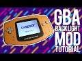 GBA BACKLIGHT MOD TUTORIAL EN ESPAÑOL