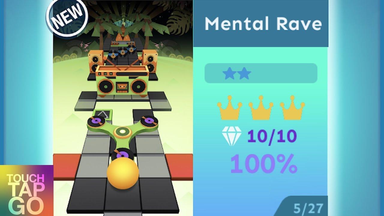 Download Rolling Sky Mental Rave 100% Complete