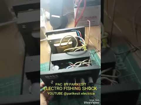 SIMPLE ELECTRO FISHING MACHINE