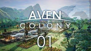 AVEN COLONY #01 VANAAR - Let's Play